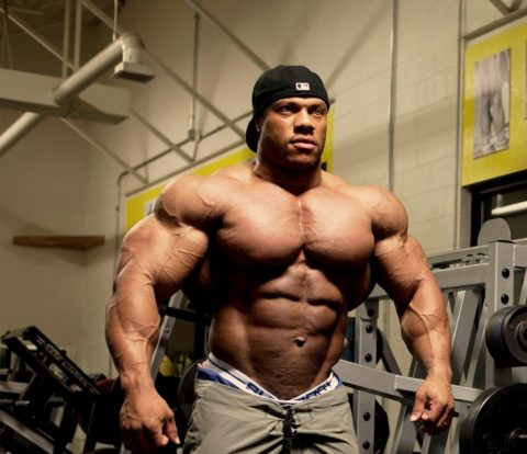 Phil Heath, quelle musculature !